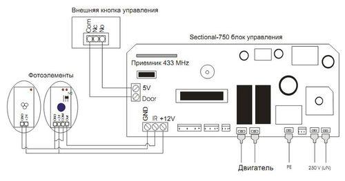 podklyuchenie_avtomatiki_sekcionnyx_vorot_5